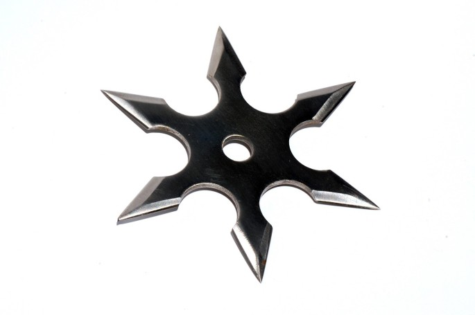 How to throw a shuriken throwing star like a ninja